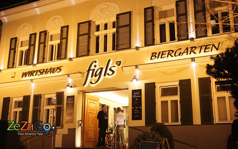 הכניסה לפיגלס - בית בירה איכותי