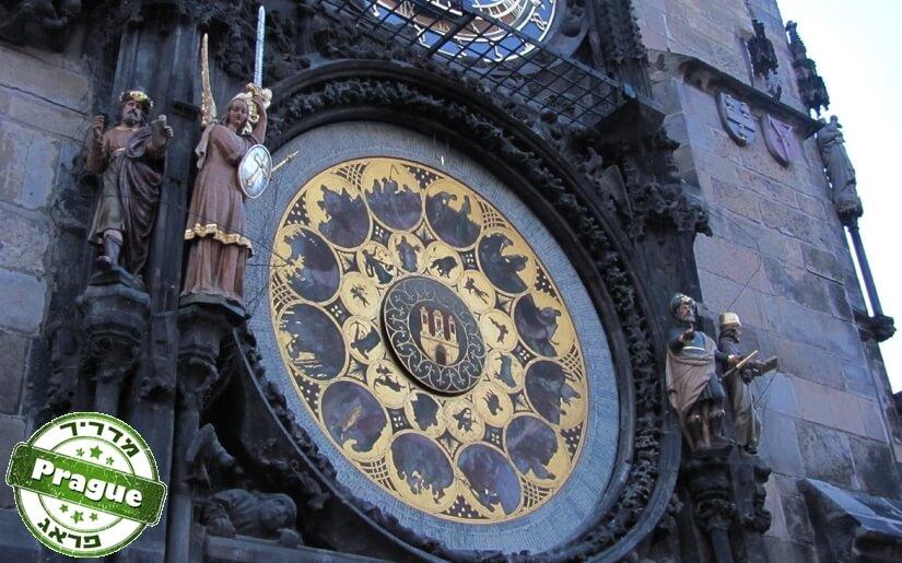 בתמונה: השעון האסטרונומי בפראג