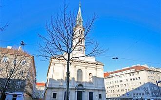 הכנסיה של יוהן נפומוק - Johann Nepomuk Kirche