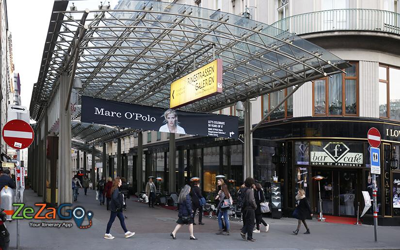 מרכז הקניות היוקרתי Ringstrassen Galerien