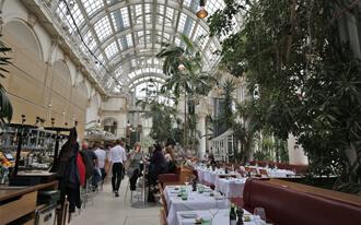 מסעדת בית הדקל - Palmenhaus