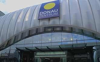 מרכז הקניות דונאו צנטרום - Donau Zentrum