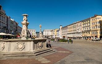 כיכר העיר העתיקה - Hauptplatz