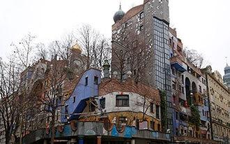 בית הונדרטוואסר - Hundertwasser Hause