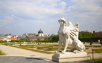גני ארמון בלוודר - Belvedere Gardens