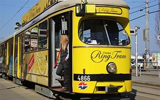 החשמלית הצהובה - Vienna Ring Tram