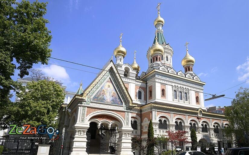 הקתדרלה האורתודוקסית הרוסית של סנט ניקולס