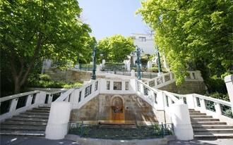המדרגות בשטרודלהוף - Strudlhofstiege