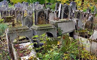 בית הקברות היהודי העתיק - Judische Friedhof Wahring