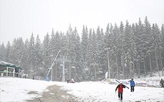 סקי בוינה - Skiing in Vienna