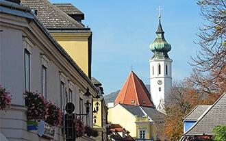 הכנסייה הקהילתית של גרינציג - Grinzinger Pfarrkirche