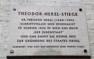המדרגות של הרצל - Theodor Herzl Stiege