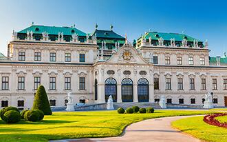 ארמון בלוודר - Belvedere Palace Vienna