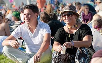פסטיבל הדנובה של וינה - Danube Island Festival