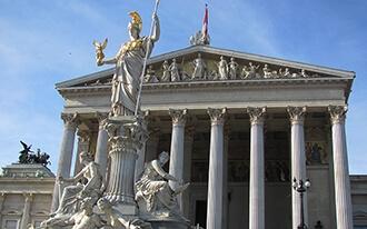 בניין הפרלמנט של אוסטריה - Austrian Parliament Building