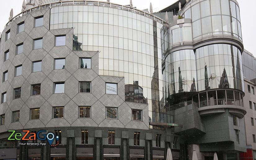 בית האס - ביניין בסגנון מודרני