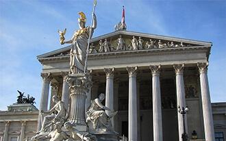 בית הפרלמנט - Austrian Parliament Building