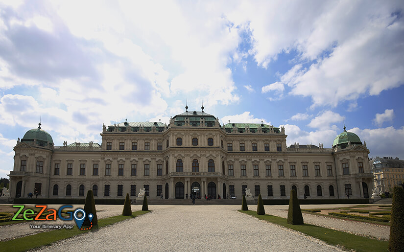 מתחם ארמון בלוודר בוינה
