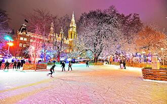 פסטיבל החלקה על הקרח - Wiener Eistraum