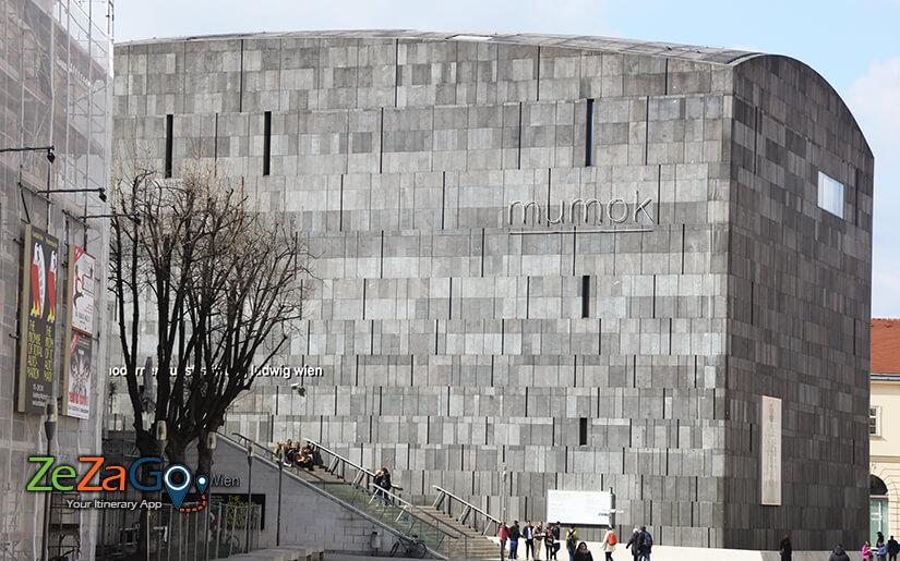 מומוק - Mumok - המוזיאון לאומנות מודרנית