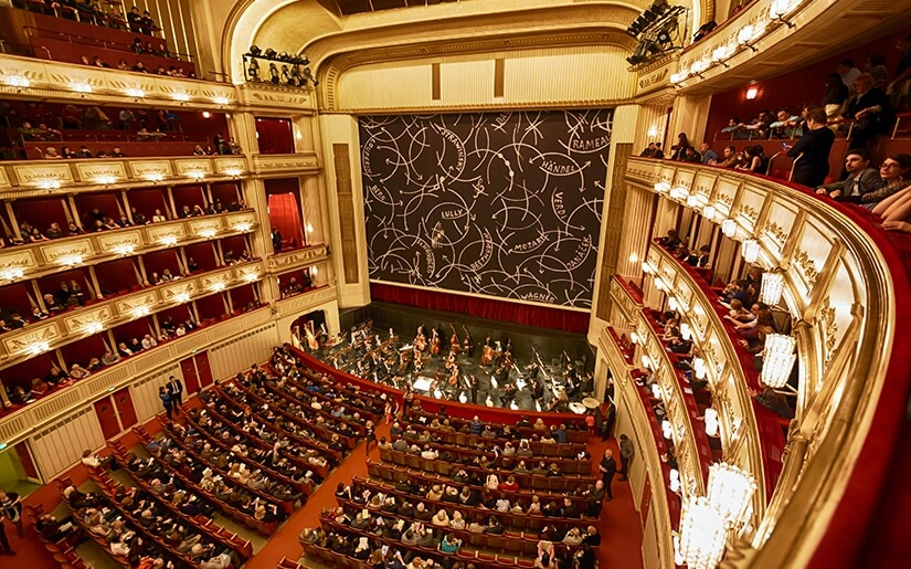 קונצרטים של מוסיקה קלאסית בבית האופרה של וינה