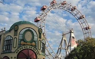 ממגדל הדנובה לפרטר - הגלגל הענק של וינה